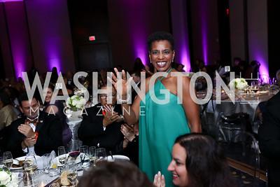 Rep. Donna Edwards. Photo by Tony Powell. 2017 Ambassadors Ball. Marriott Marquis. October 12, 2017