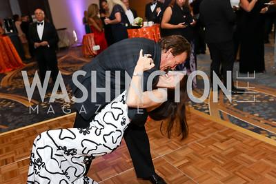 Lynn and Bob Haueter. Photo by Tony Powell. 2017 Ambassadors Ball. Marriott Marquis. October 12, 2017