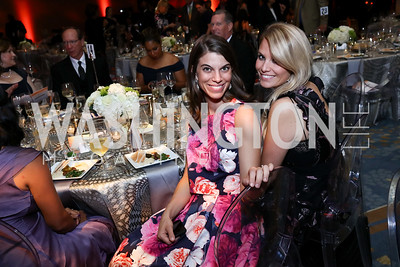 Elise Conner, Catherine Phillips. Photo by Tony Powell. 2017 Ambassadors Ball. Marriott Marquis. October 12, 2017