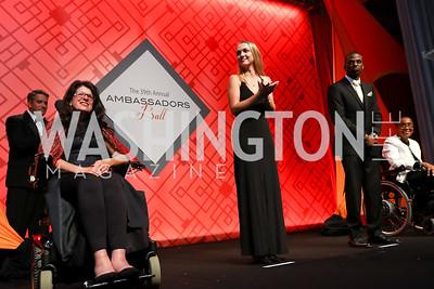 Photo by Tony Powell. 2017 Ambassadors Ball. Marriott Marquis. October 12, 2017