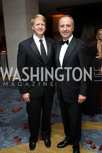 David Marriott, Italy Amb. Armando Varricchio. Photo by Tony Powell. 2017 Ambassadors Ball. Marriott Marquis. October 12, 2017