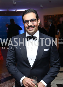 Bahrain Amb. Abdulla Al Khalifa. Photo by Tony Powell. 2017 American Portrait Gala. November 19, 2017