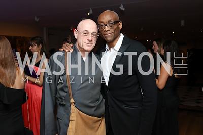 Bjorn Amelan and Honoree Bill T. Jones. Photo by Tony Powell. 2017 American Portrait Gala. November 19, 2017