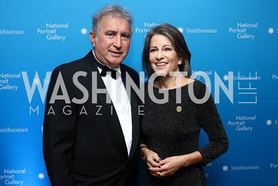 Marcelino Elosua, Anna Chavez. Photo by Tony Powell. 2017 American Portrait Gala. November 19, 2017