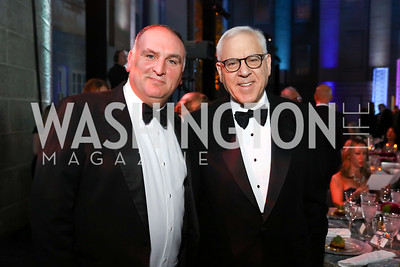 Jose Andres, David Rubenstein. Photo by Tony Powell. 2017 American Portrait Gala. November 19, 2017
