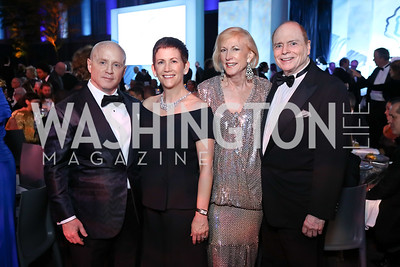 Todd Hitt, Michelle Dolansky, Lola Reinsch, Bill Detty. Photo by Tony Powell. 2017 American Portrait Gala. November 19, 2017