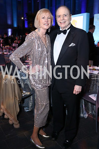 Lola Reinsch, Bill Detty. Photo by Tony Powell. 2017 American Portrait Gala. November 19, 2017