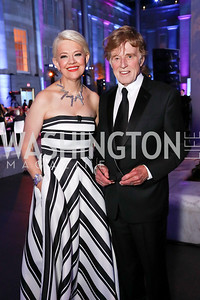 Kim Sajet, Robert Redford. Photo by Tony Powell. 2017 American Portrait Gala. November 19, 2017