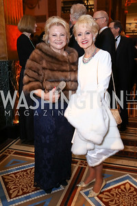Mary Mochary, Carol Lascaris. Photo by Tony Powell. 2017 American Portrait Gala. November 19, 2017