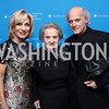 Andrea Mitchell, Honoree Madeleine Albright, Timothy Greenfield-Sanders. Photo by Tony Powell. 2017 American Portrait Gala. November 19, 2017