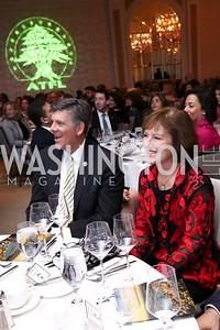 Rep. Darin LaHood, American Amb. to Lebanon Elizabeth Richard. Photo by Tony Powell. 2017 ATFL Gala Awards Dinner. Fairmont Hotel. March 22, 2017