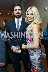 Paul Debs, Lizzy Olsen. Photo by Tony Powell. 2017 ATFL Gala Awards Dinner. Fairmont Hotel. March 22, 2017