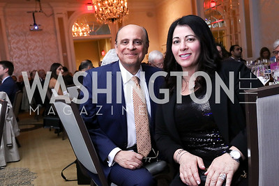 Talal and Susan Nsouli. Photo by Tony Powell. 2017 ATFL Gala Awards Dinner. Fairmont Hotel. March 22, 2017