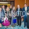 Megan Wong, Bill and Stephanie Lloyd, Beth Pearson, Lael Mohib, James Cunningham, Peter and Debra Levoy. Photo by Tony Powell. 2017 Aschiana Foundation Gala. Residence of Japan. February 8, 2017