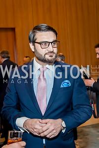 Afghanistan Amb. Hamdullah Mohib. Photo by Tony Powell. 2017 Aschiana Foundation Gala. Residence of Japan. February 8, 2017