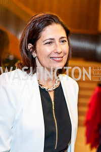 Demet DeAvila. Photo by Tony Powell. 2017 Aschiana Foundation Gala. Residence of Japan. February 8, 2017