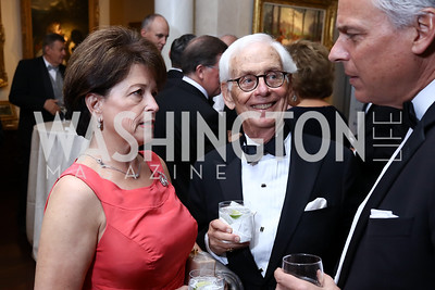 Toni Verstandig, Lee Verstandig, Jon Huntsman. Photo by Tony Powell. 2017 Atlantic Council Distinguished Leadership Awards. Ritz Carlton. June 5, 2017