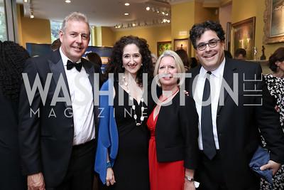 British Amb. Sir Kim Darroch, Dafna Tapiero, Vanessa Darroch, Alan Fleischmann. Photo by Tony Powell. 2017 Atlantic Council Distinguished Leadership Awards. Ritz Carlton. June 5, 2017