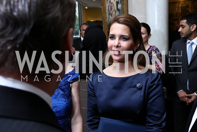 HRH Princess Haya bint al Hussein. Photo by Tony Powell. 2017 Atlantic Council Distinguished Leadership Awards. Ritz Carlton. June 5, 2017