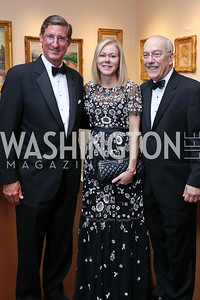 Larry Fisher, DeAnn Marshall, Dr. Kurt Newman. Photo by Tony Powell. 2017 Atlantic Council Distinguished Leadership Awards. Ritz Carlton. June 5, 2017