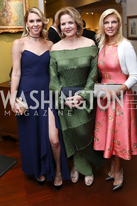 Maryanne Huntsman, Renée Fleming, Mary Kaye Huntsman. Photo by Tony Powell. 2017 Atlantic Council Distinguished Leadership Awards. Ritz Carlton. June 5, 2017
