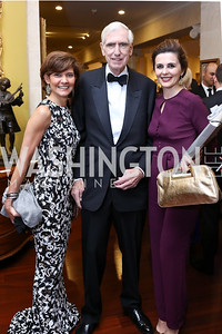 Amb. Capricia Marshall, C. Boyden Gray, Kosovo Amb. Vlora Citaku. Photo by Tony Powell. 2017 Atlantic Council Distinguished Leadership Awards. Ritz Carlton. June 5, 2017