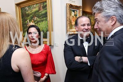Luciana Gonzalez-Revilla and Panama Amb. Emanuel Gonzalez-Revilla. Photo by Tony Powell. 2017 Atlantic Council Distinguished Leadership Awards. Ritz Carlton. June 5, 2017
