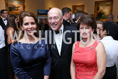 HRH Princess Haya bint al Hussein, Dr. Kurt Newman, Toni Verstandig. Photo by Tony Powell. 2017 Atlantic Council Distinguished Leadership Awards. Ritz Carlton. June 5, 2017