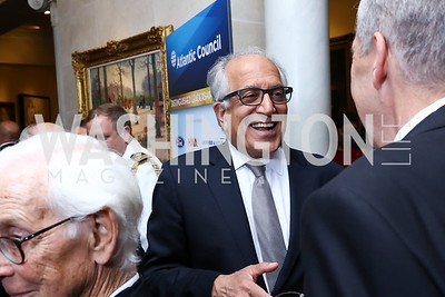 Amb. Zal Khalilzad. Photo by Tony Powell. 2017 Atlantic Council Distinguished Leadership Awards. Ritz Carlton. June 5, 2017