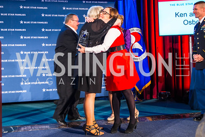 Judy Osborne, Kathy Roth-Douquet. Photo by Alfredo Flores. 2017 Blue Star Neighbors Celebration. U.S. Chambers of Commerce. March 22, 2017