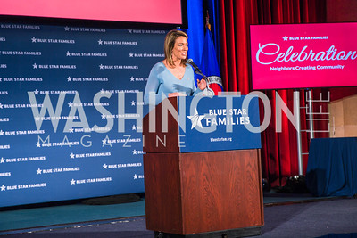 Brooke Baldwin,.  Photo by Alfredo Flores. 2017 Blue Star Neighbors Celebration. U.S. Chambers of Commerce. March 22, 2017