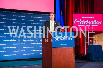 Eric Eversole. Photo by Alfredo Flores. 2017 Blue Star Neighbors Celebration. U.S. Chambers of Commerce. March 22, 2017