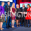 Ellyn Dunford, US Army Captain Chase Burnett, Ashley Burnett, Judy Osborne, Ken Osborne, Kathy Roth-Douquet, Sergeant Maj. Daniel A. Dailey . Photo by Alfredo Flores. 2017 Blue Star Neighbors Celebration. U.S. Chambers of Commerce. March 22, 2017