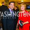 Ron Marcus, Leanna Jackson.  Photo by Alfredo Flores. 2017 Blue Star Neighbors Celebration. U.S. Chambers of Commerce. March 22, 2017