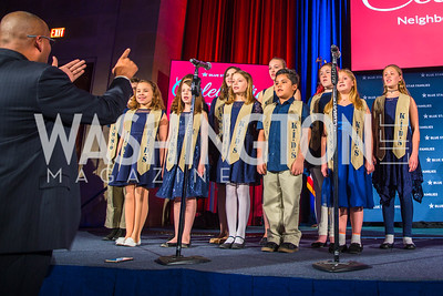 Cammo Kids. Photo by Alfredo Flores. 2017 Blue Star Neighbors Celebration. U.S. Chambers of Commerce. March 22, 2017