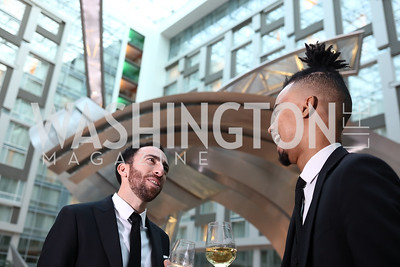 Josh Lasky, Thomas Wheet. Photo by Tony Powell. DC Chamber's Choice Awards and Gala. Marriott Marquis. October 20, 2017