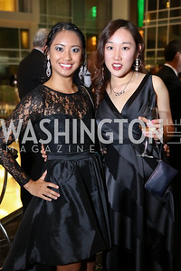 Nella Rivera, Yj Cheung. Photo by Tony Powell. DC Chamber's Choice Awards and Gala. Marriott Marquis. October 20, 2017