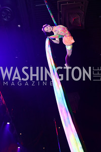 Aerial Silks' Moira Lee. Photo by Tony Powell. 2017 Chance for Life. MGM National Harbor. April 1, 2017