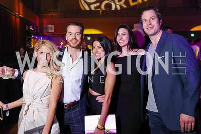 Shelby Karim, Lee Smith, Patrice Dizebba, Danielle Chapman, Mitch Katz. Photo by Tony Powell. 2017 Chance for Life. MGM National Harbor. April 1, 2017