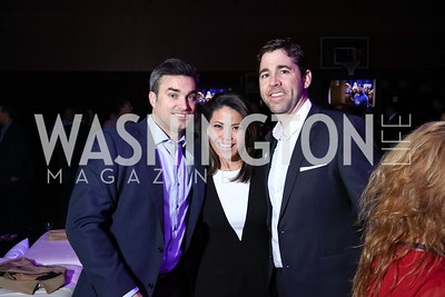 Doug Kammerer, Angie Goff and Robert Ellis. Photo by Tony Powell. 2017 Chance for Life. MGM National Harbor. April 1, 2017
