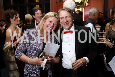 Leslie Sandoz, Maestro Scott Tucker. Photo by Tony Powell. 2017 Choral Arts Gala. Kennedy Center. December 18, 2017