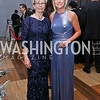 Finland Amb. Kirsti Kauppi, Julie Chase. Photo by Tony Powell. 2017 Choral Arts Gala. Kennedy Center. December 18, 2017