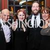 Rob Liberatore, Jen Gaffney and Derick Kraft, Debra Kraft Liberatore. Photo by Tony Powell. 2017 Choral Arts Gala. Kennedy Center. December 18, 2017
