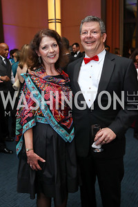 Diana Dykstra, Scott Pritchett. Photo by Tony Powell. 2017 Choral Arts Gala. Kennedy Center. December 18, 2017