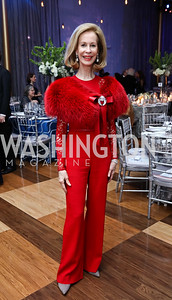 Bonnie McElveen Hunter. Photo by Tony Powell. 2017 Choral Arts Gala. Kennedy Center. December 18, 2017