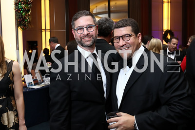 Ken Hyle and Dale Mott. Photo by Tony Powell. 2017 Choral Arts Gala. Kennedy Center. December 18, 2017