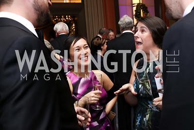 Katie Capanna, Erika Rissi. Photo by Tony Powell. 2017 Choral Arts Gala. Kennedy Center. December 18, 2017