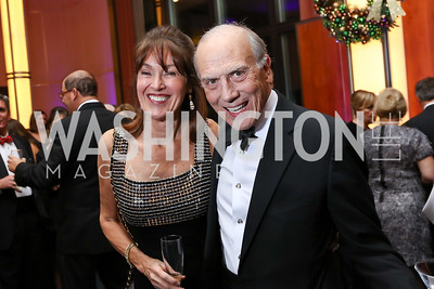 Debra Kraft Liberatore and Rob Liberatore. Photo by Tony Powell. 2017 Choral Arts Gala. Kennedy Center. December 18, 2017