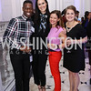 Jay Snead, Jessica Rauch, Katie Aiello-Howard, Caylee Harris. Photo by Tony Powell. 2017 DC Ed Fund 10 Year Anniversary Dinner. Renwick Gallery. October 5, 2017