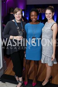 Carol Wilson, Chavon Jones, Mary Beth Maggio. Photo by Tony Powell. 2017 DC Ed Fund 10 Year Anniversary Dinner. Renwick Gallery. October 5, 2017